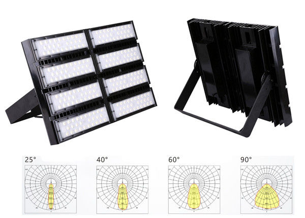 Long Lifespan LED Stadium Flood Light , Highly Bright Floodlights For Sport Fields